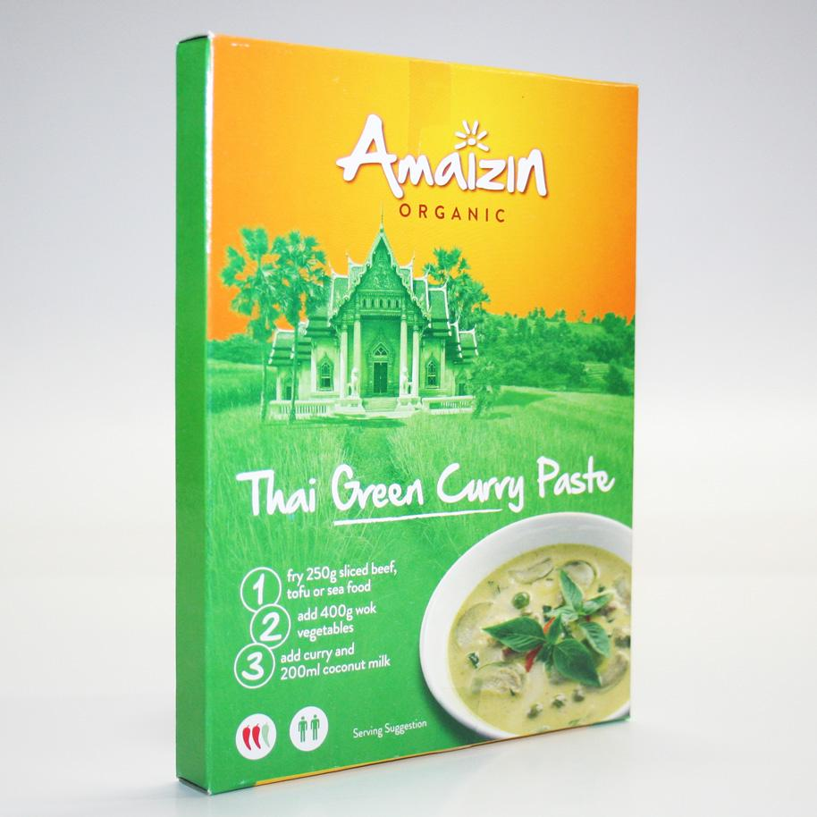 Amaizin Thai Green Curry Paste 80g