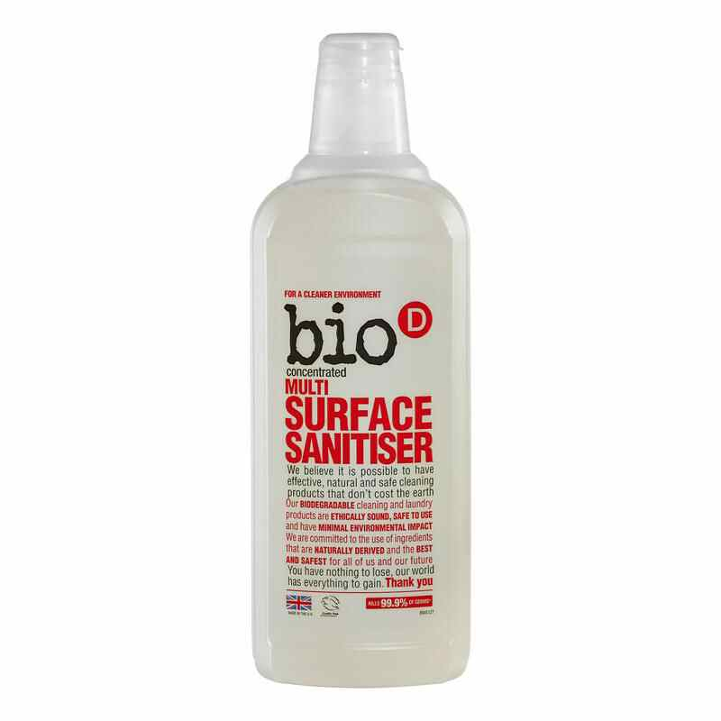 Bio D Multi Surface Sanitiser 750ml   Vegan