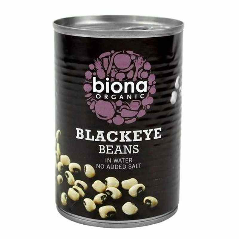 Biona Black Eye Beans 400g