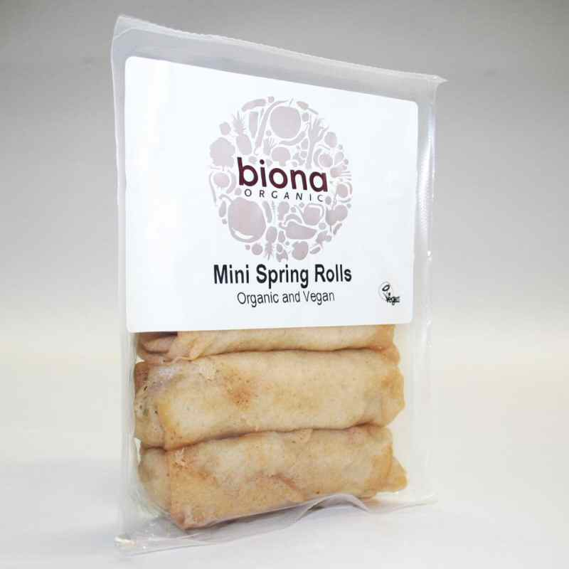 Biona Mini Spring Rolls 200g chilled