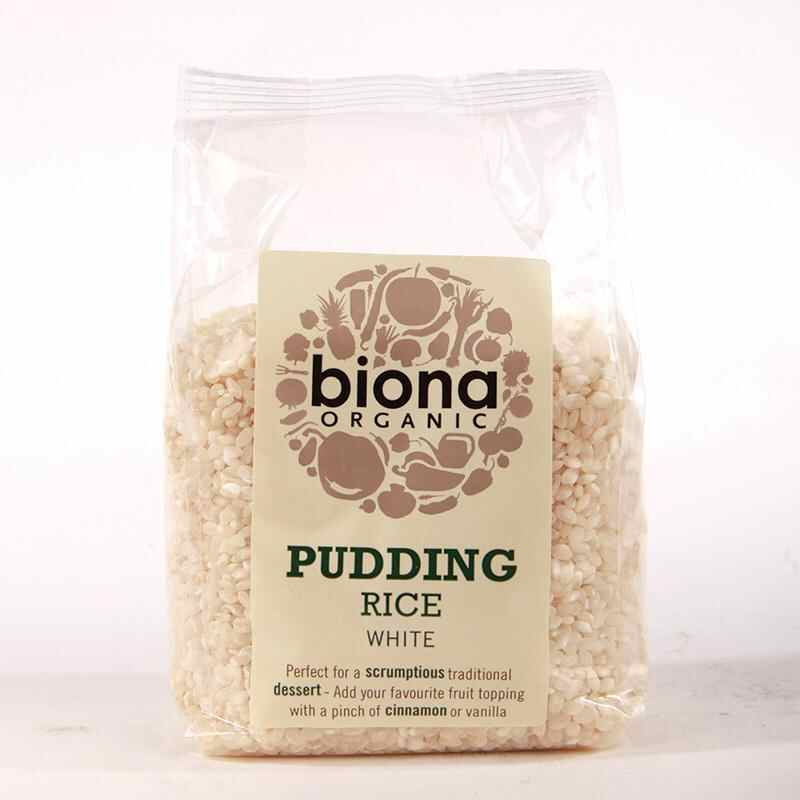 Biona Pudding Rice 500g