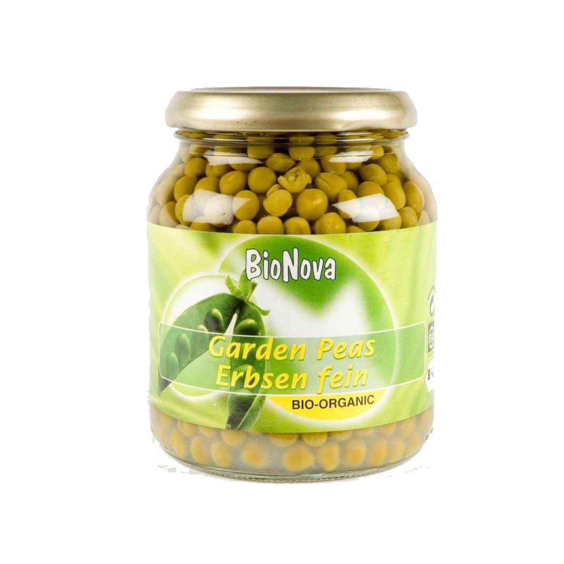 Bionova Peas In Jars 350g