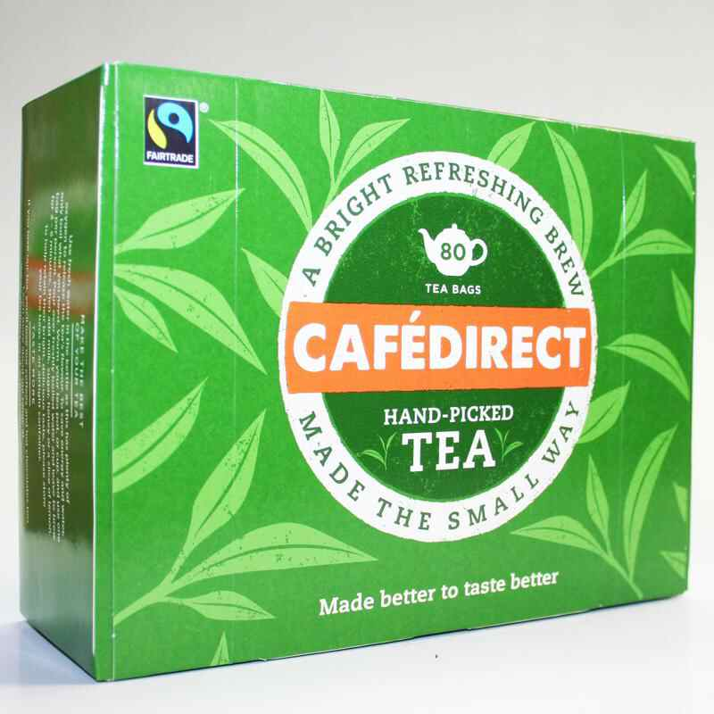 Cafedirect 80 Bags Non Organic Fair Trade