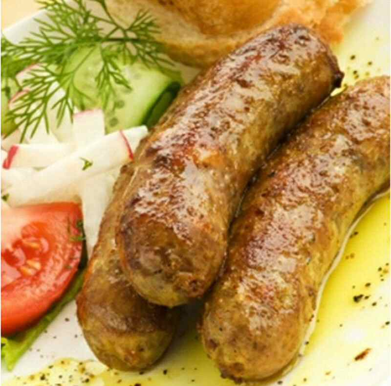 Chicken & Herb Sausages x 4 Pack  450g Add free/free range gluten free