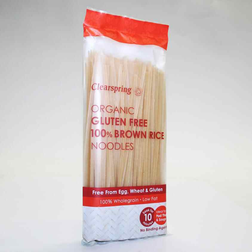 Clearspring gluten free Brown Rice Noodles 200g