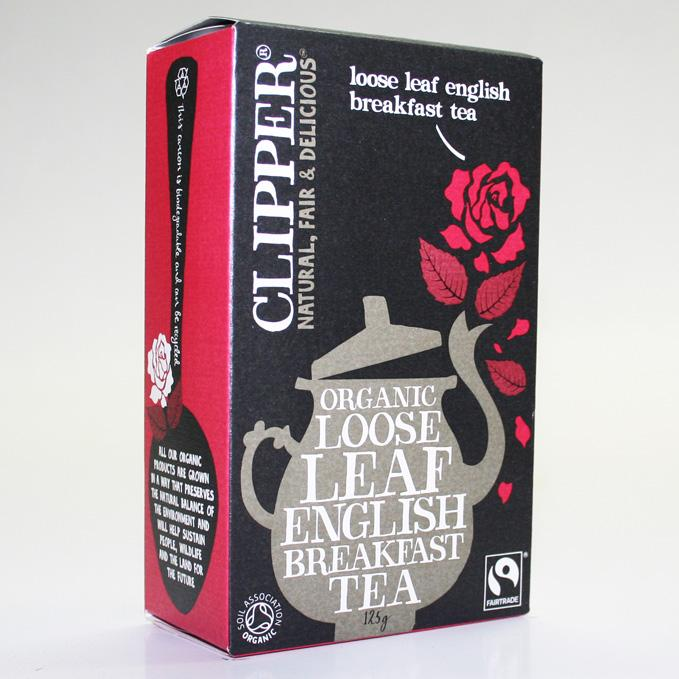 Clipper English Breakfast Tea loose 125g
