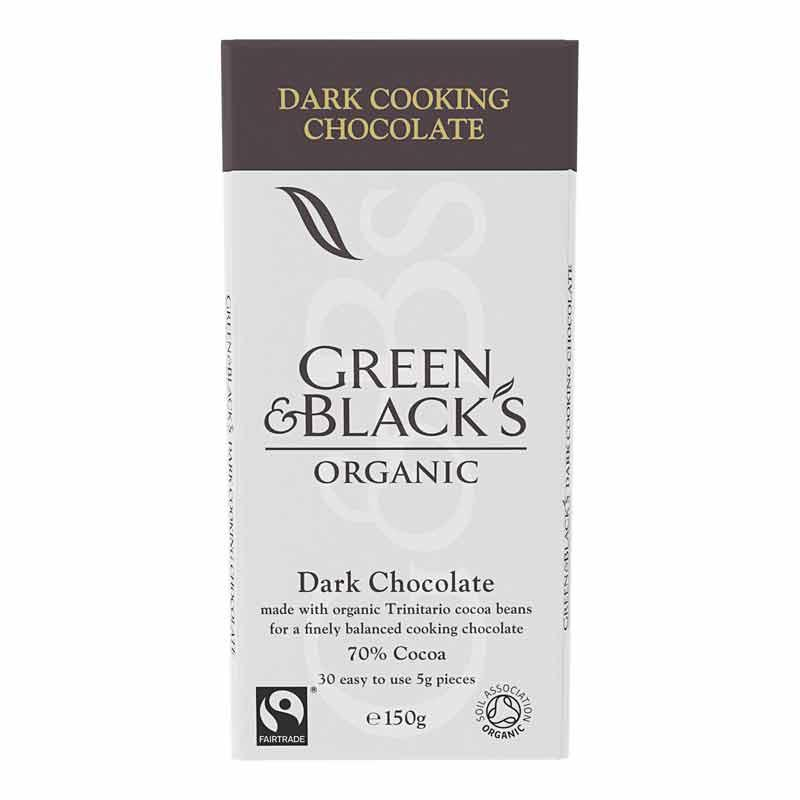 Green & Black's Dark Cooking Chocolate 150g