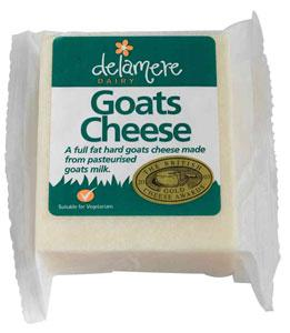 Delamere Hard Goat's Cheese 150g non organic