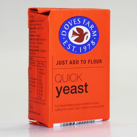 Doves Farm Quick Yeast 125g non organic