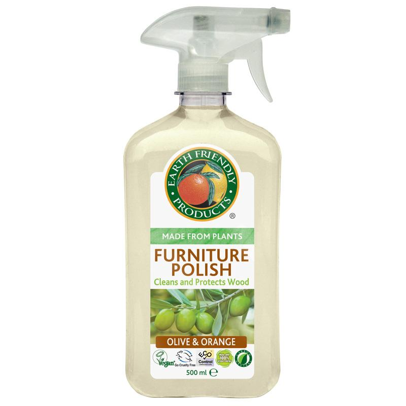 Earth Friendly Furniture Polish 500ml   Vegan