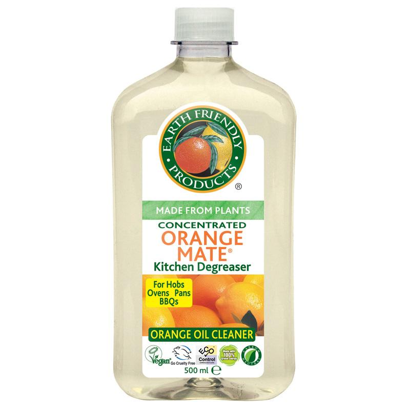 Earth Friendly Orange Mate Kitchen Degreaser  500ml   Vegan