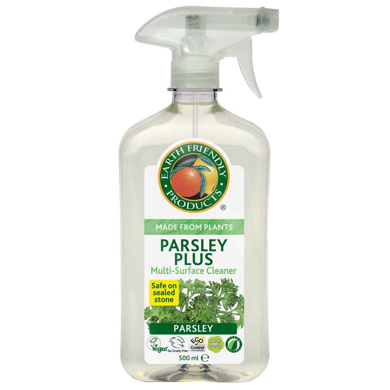 Earth Friendly Parsley Cleaner 500ml  Vegan  10% OFF