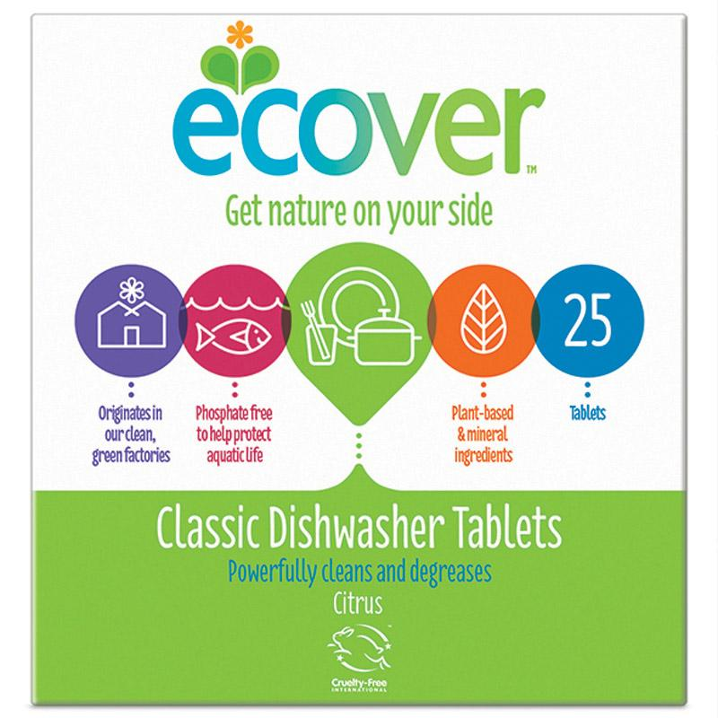 Ecover Classic Dishwash tablets x 25
