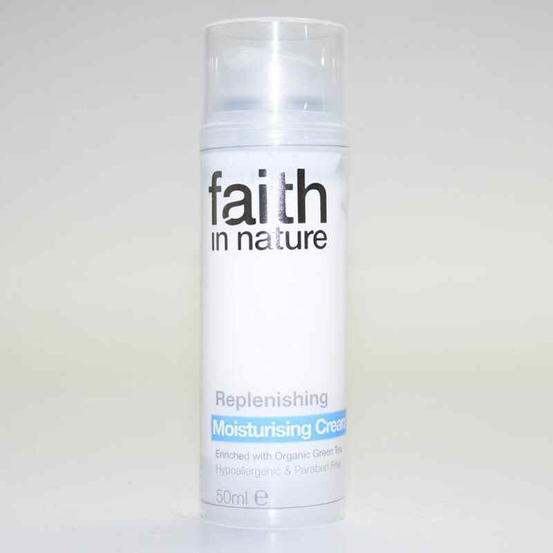 Faith in Nature Replenishing Moisturiser 50ml