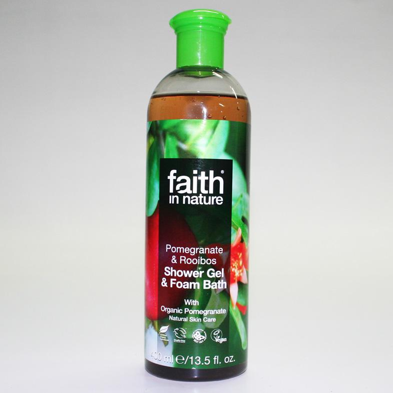 Faith in Nature Pomegranate/Rooibos Bath Gel 400ml