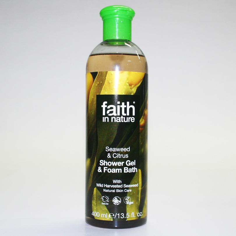 Faith in Nature Seaweed Foam Bath 400ml