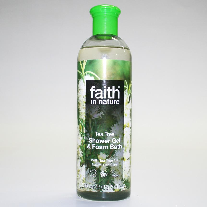 Faith in Nature Tea Tree Foam Bath 400ml