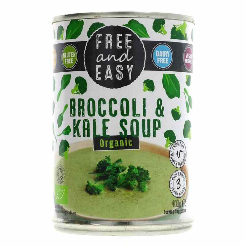 Free & Easy Broccoli/Kale Soup 400g low salt