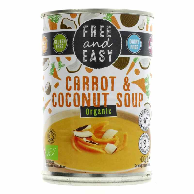 Free & Easy Carrot & Coconut 400g