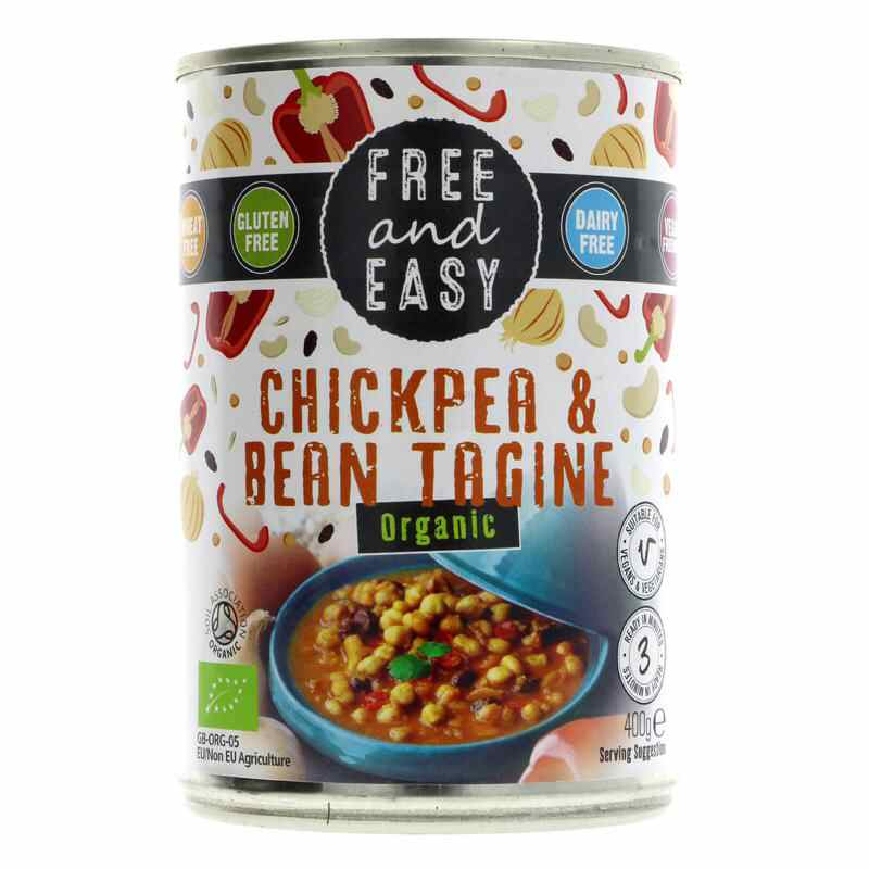 Free & Easy Chickpea & Bean Tagine  400g