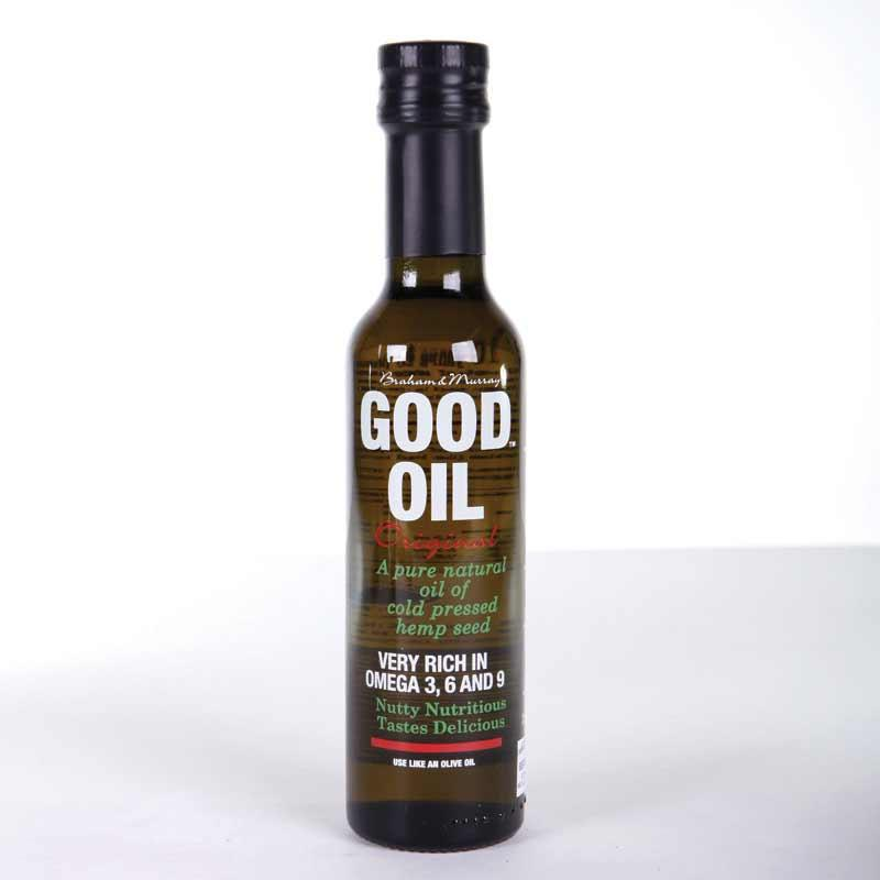 Good Oil Hemp Oil 250ml non organic