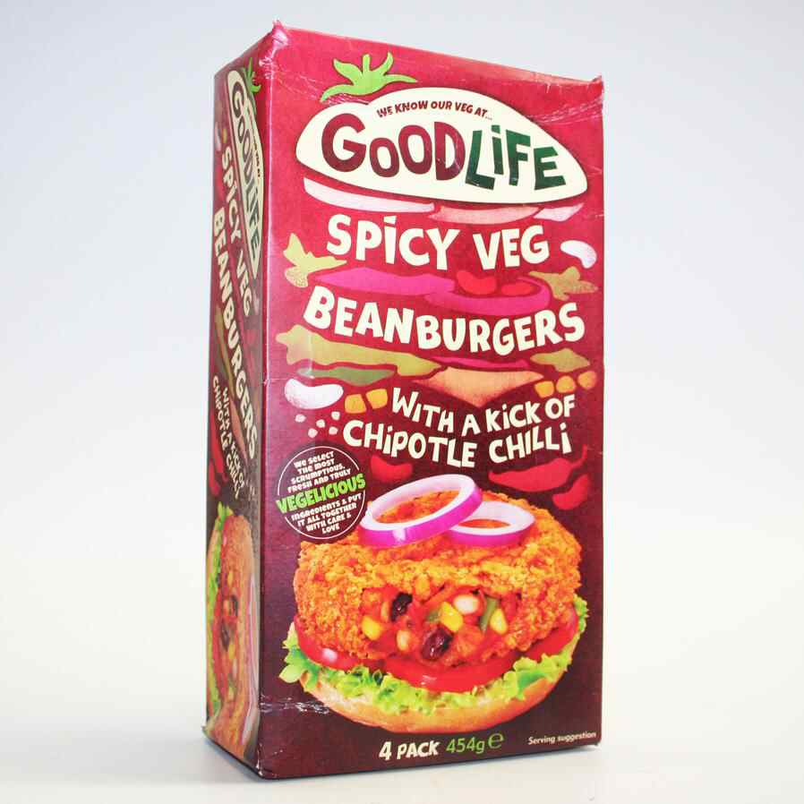 Goodlife Spicy Bean - 4 xQuarter Pounders non organic