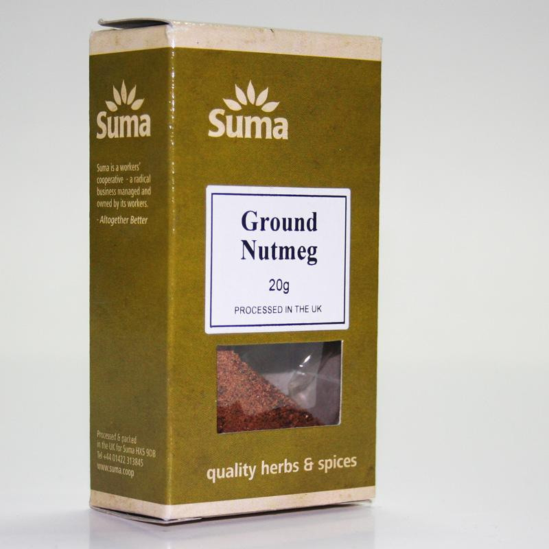 Nutmeg Ground 20g non organic