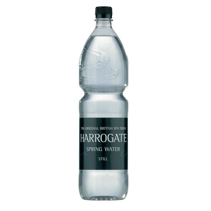Harrogate Still Water 12x1.5 Litre CASE	 (5% Discount)