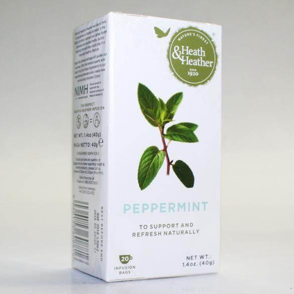 Heath & Heather Peppermint Teabags x 20