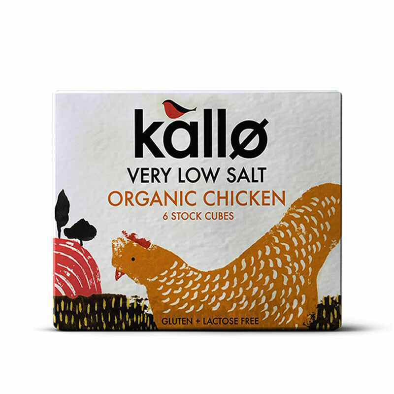 Kallo Low Salt Chicken Stock Cubes x 6