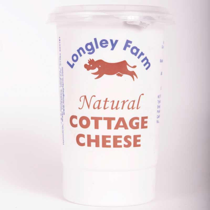 Longley Farm Cottage Cheese 250g non organic	pre order