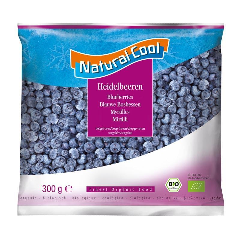 Natural Cool Frozen Blueberries  300g