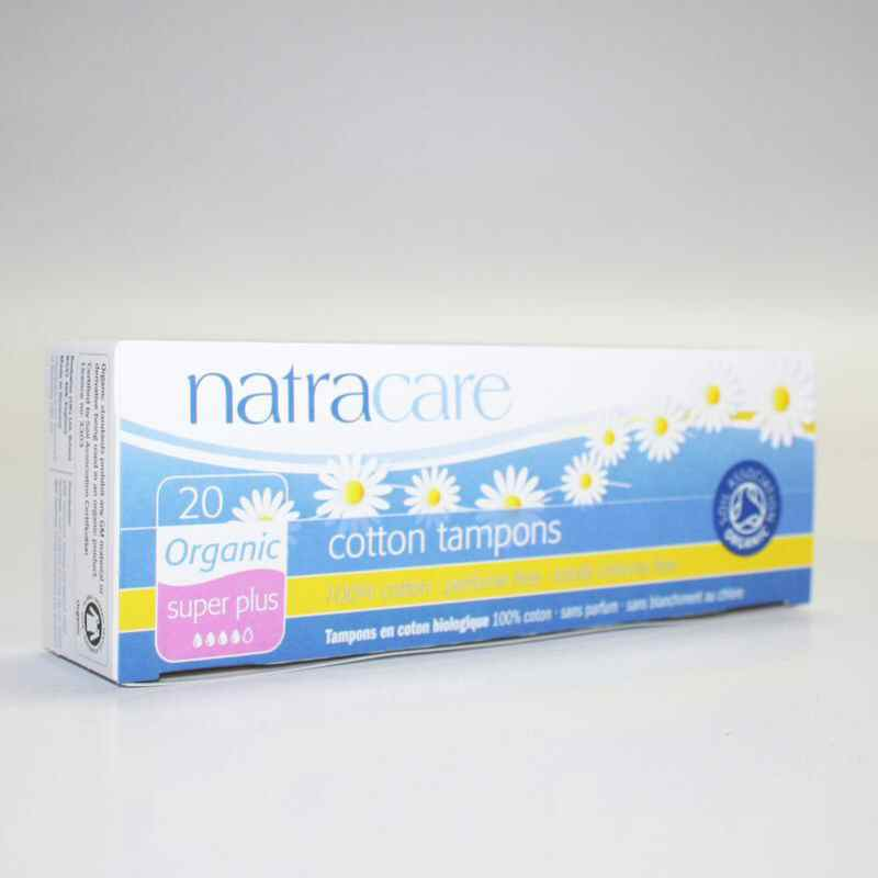 Natracare Non Applicator Super Plus x 20