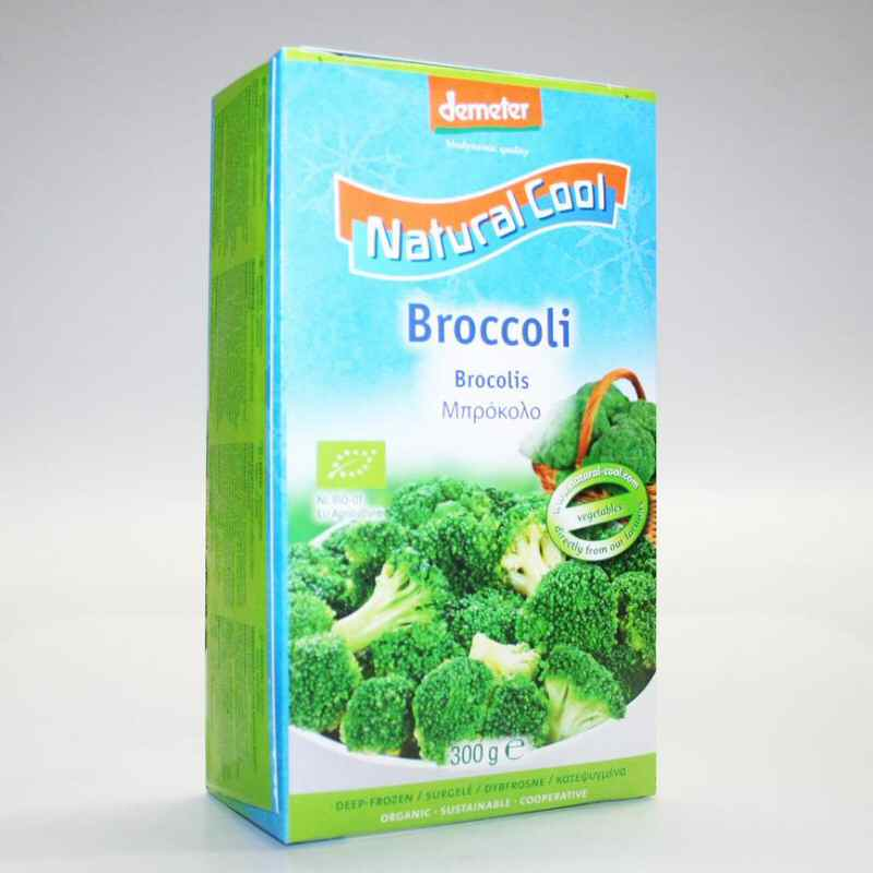 Natural Cool Frozen Broccoli 300g