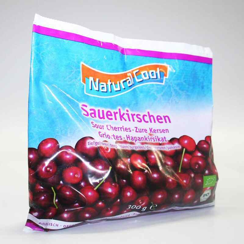 Natural Cool Frozen Cherries 300g