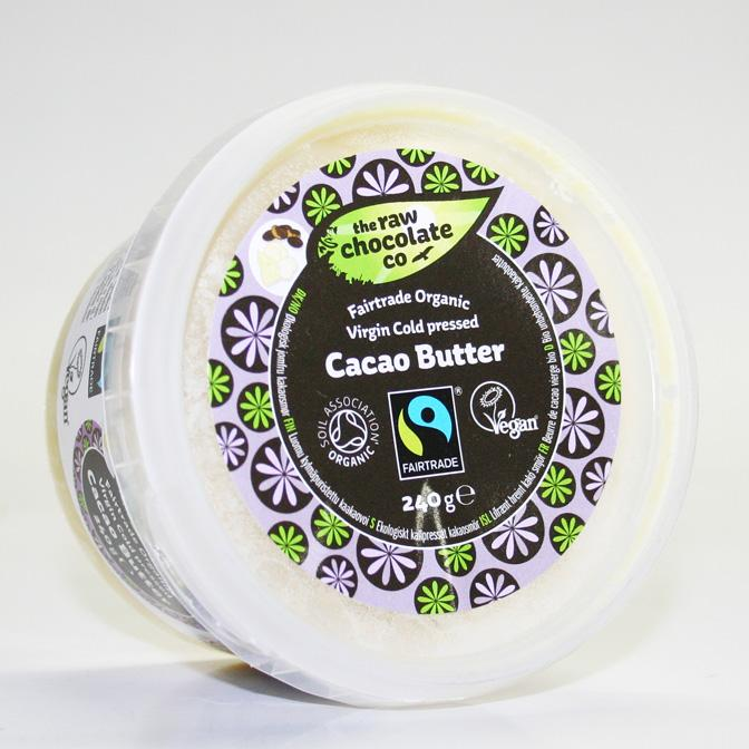 The Raw Chocolate Co. Cocoa Butter 280g
