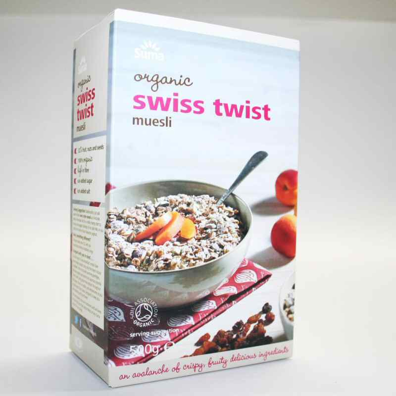 Suma Swiss Twist Muesli 500g
