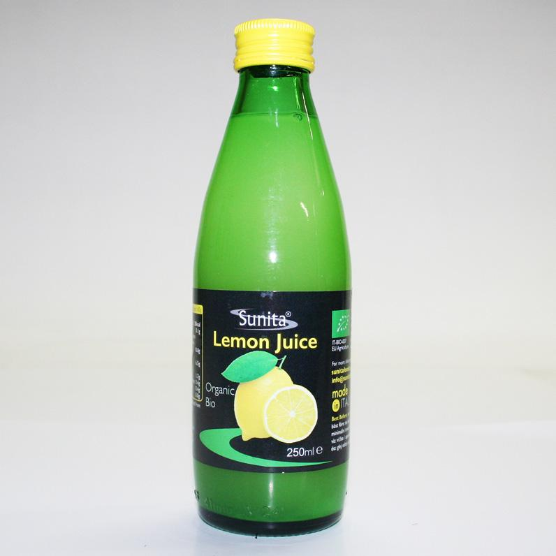 Sunita Concentrated Lemon Juice 250ml
