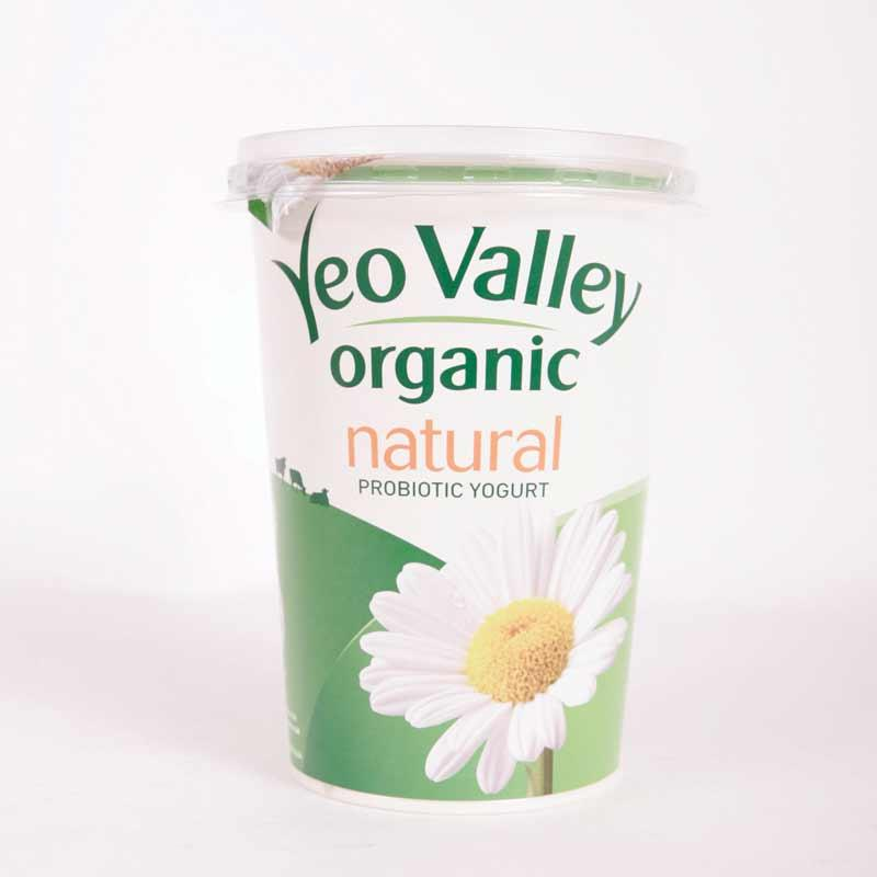 Yeo Valley Whole Milk Nat Yoghurt 500g