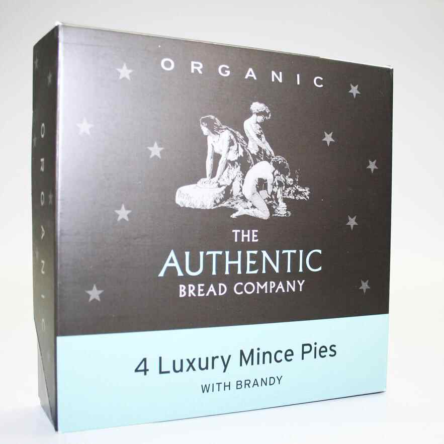 Authentic Bread Company Luxury  Mince pies
