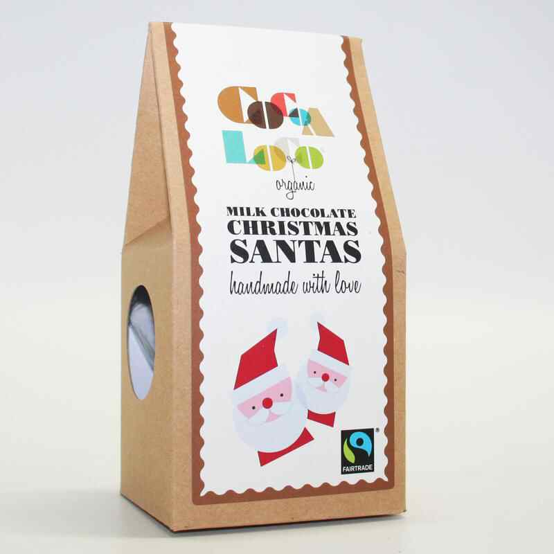 Cocoa Loco Milk Chocolate Santas