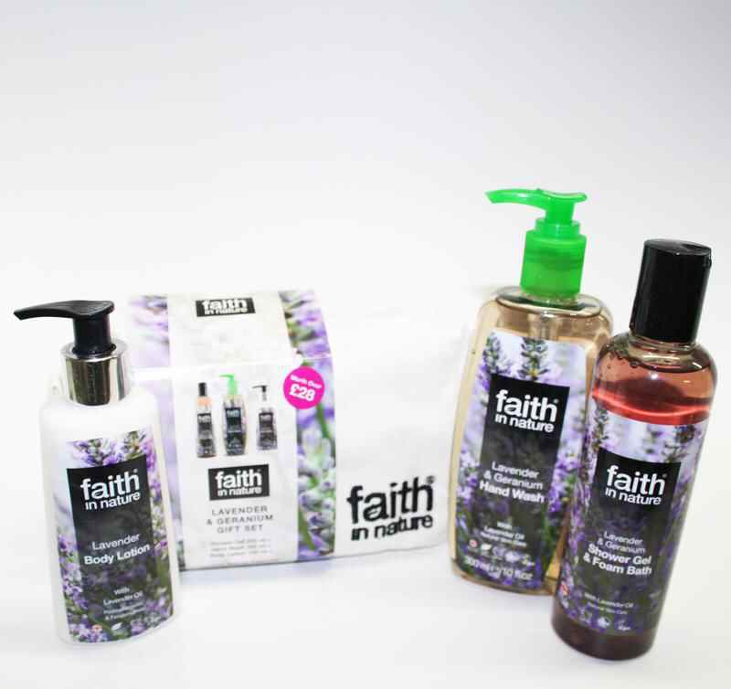 Faith Lavender & Geranium Gift Bag