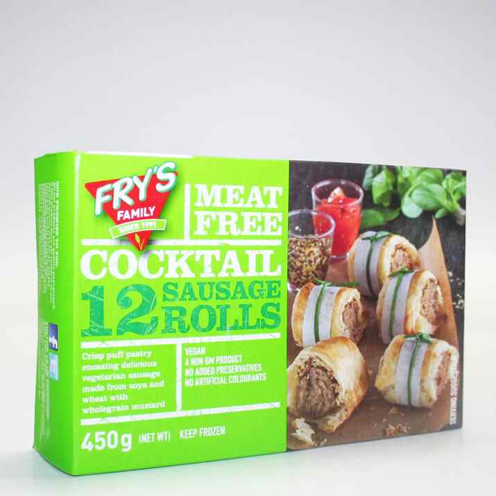 Frys frozen sausage Rolls non organic 450g