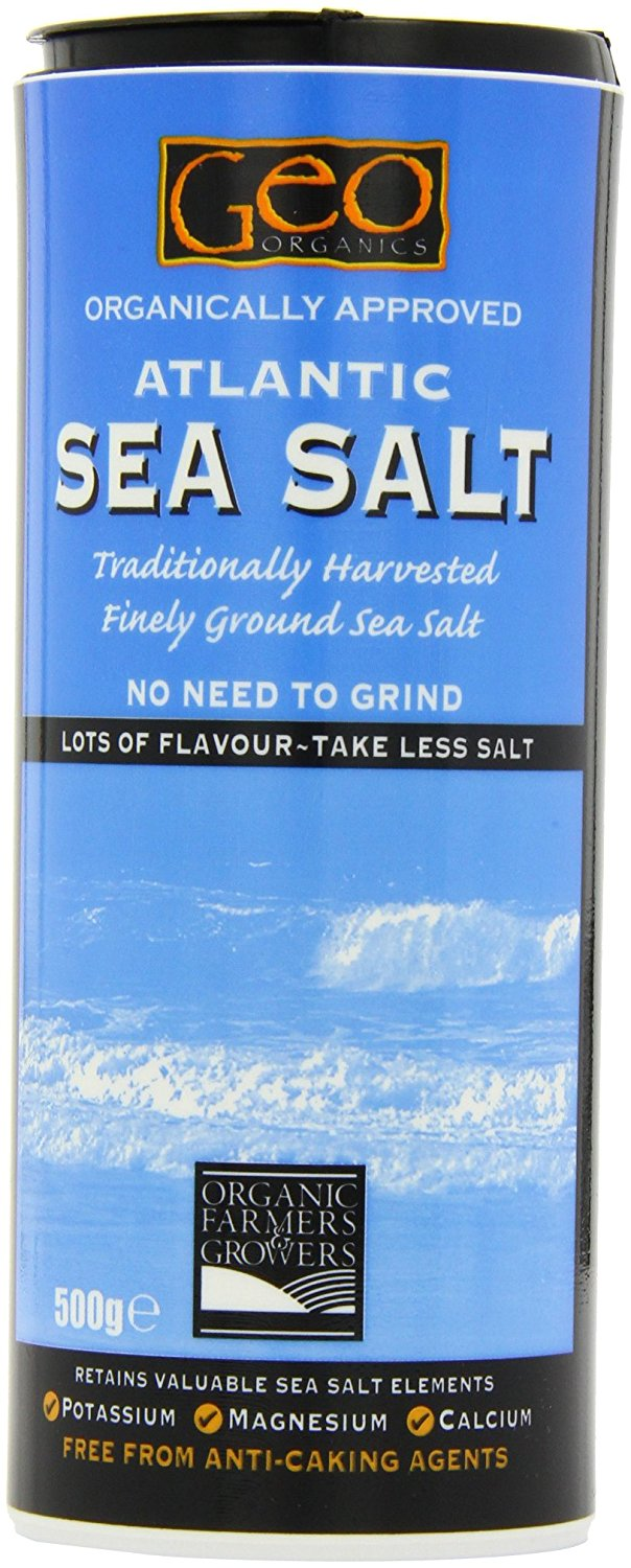 Geo Atlantic Fine Ground Sea Salt 500g
