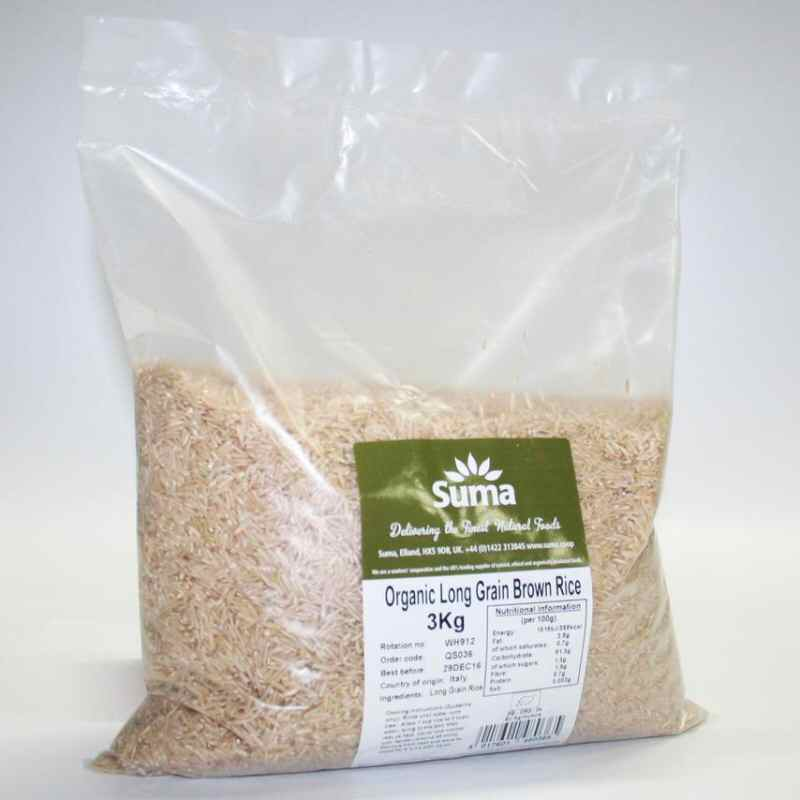 Long Grain Brown Rice 3kg