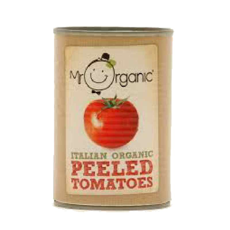 Mr Organic Whole Tomatoes 400g