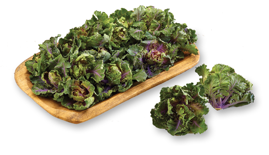 c Kalettes 200g bag (nutty and sweet, fab wilted in garlic butter)