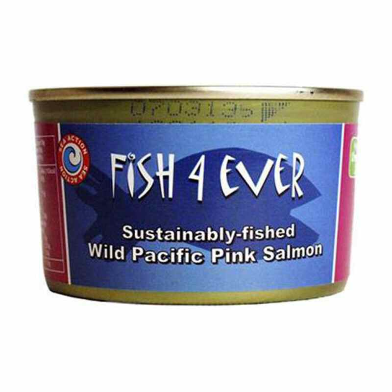 Fish 4 Ever Wild Pacific Pink Salmon in Brine 160g