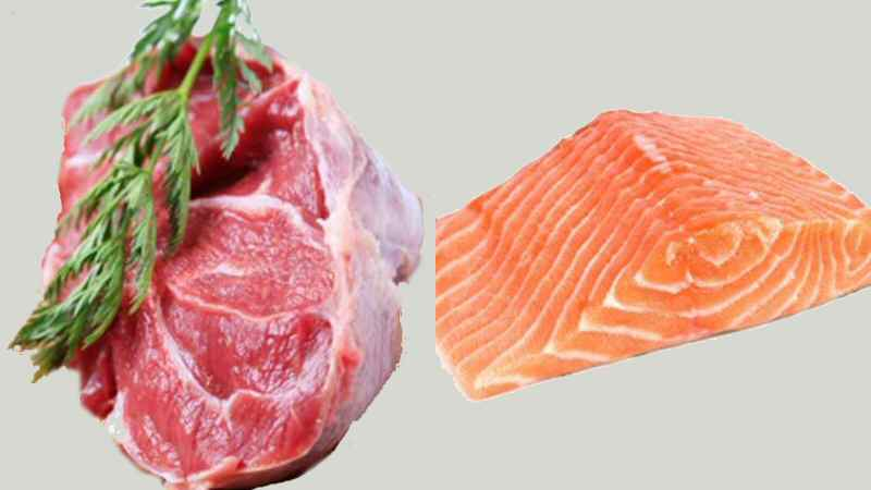 organic meat and fish