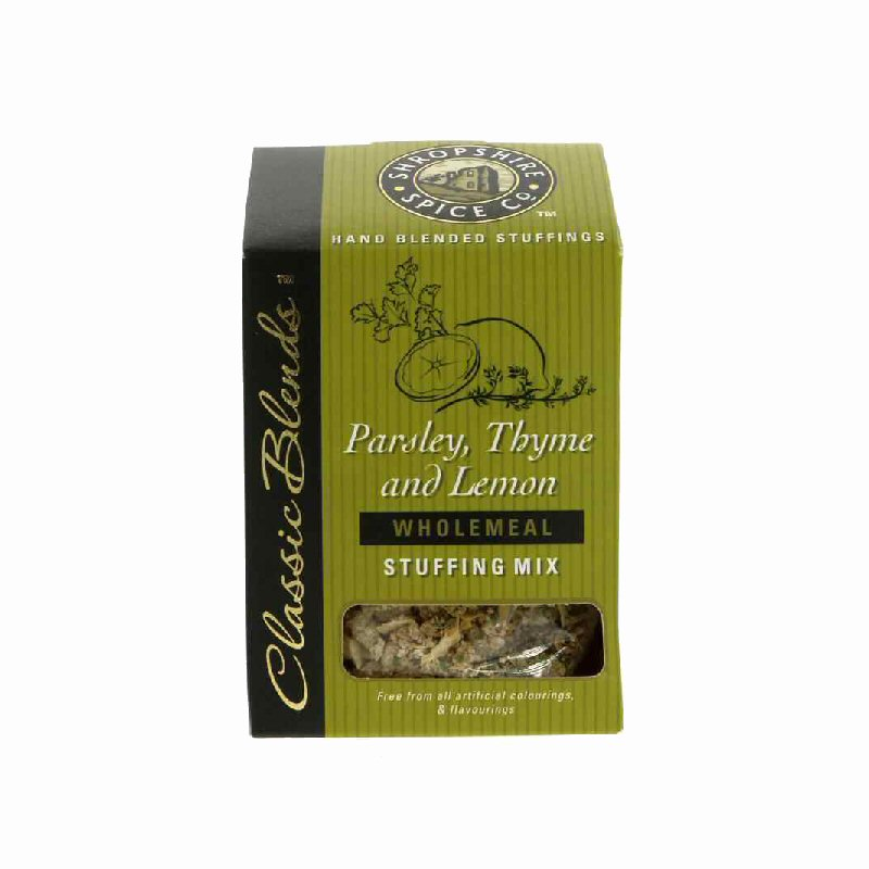 Shropshire Spice Lemon & Time Stuffing  150g - none organic